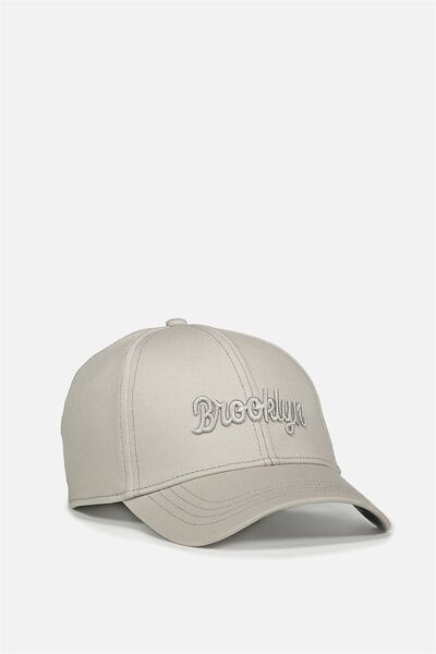 Outfield Fitted Cap, GREY SEPTLE/BROOKLYN