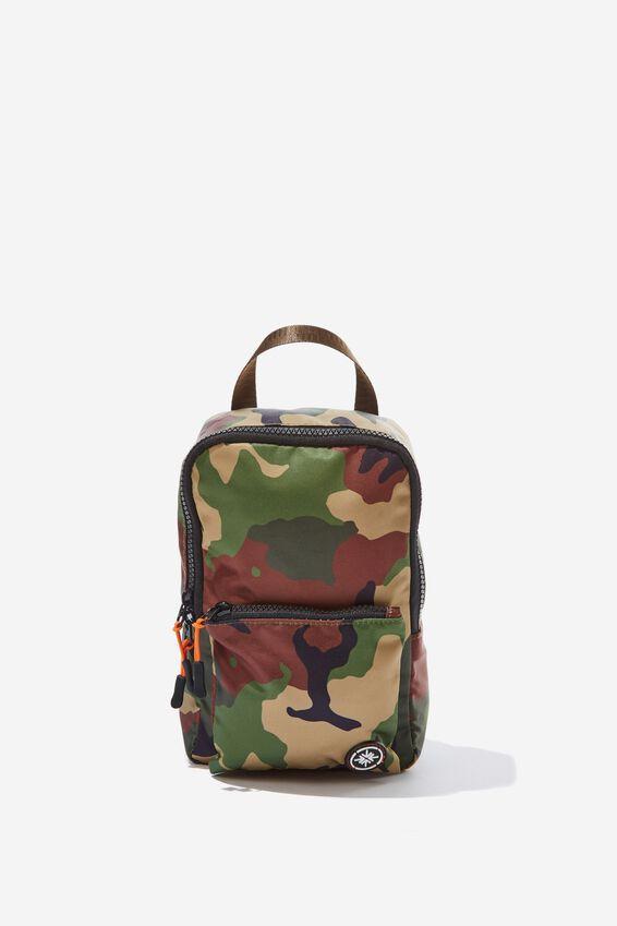 Escape Mini Backpack, WOODLAND CAMO CLASH
