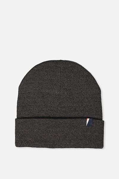High Top Beanie, CHARCOAL MARLE