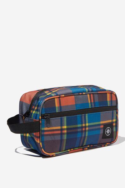 Transit Wash Bag, MULTI CHECK