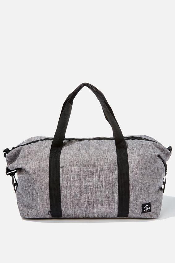 Transit Duffle Bag, GREY CROSSHATCH