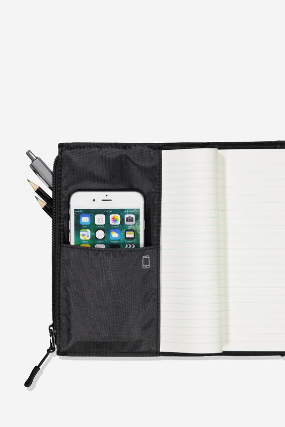 Transit Notebook, LST TRAVEL SUPPLY RED