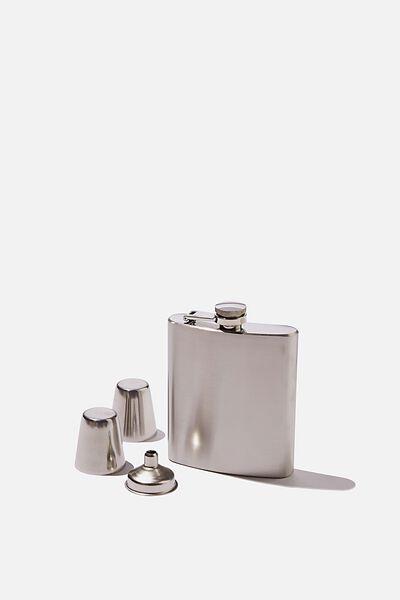 Flask Set, ALUMINIUM