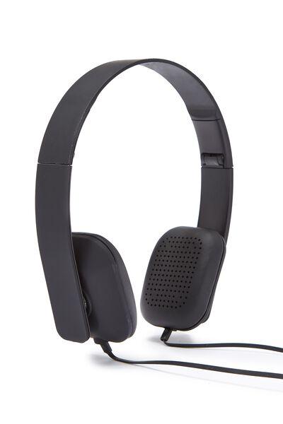 Classic Headphone, BLACK