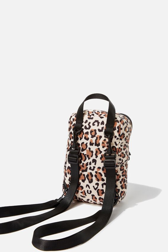 Escape Mini Backpack, LEOPARD PRINT