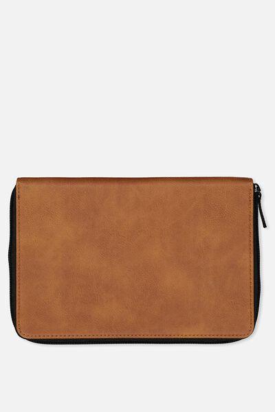 Family Travel Wallet, TAN