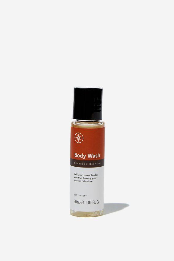 Travel Body Wash 30Ml, FIRESIDE