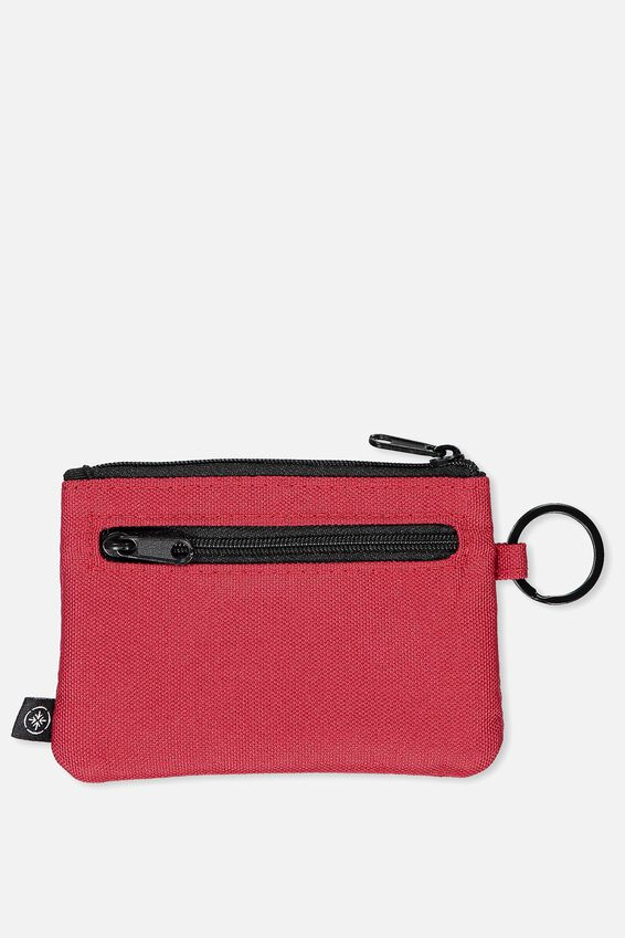 Coin Purse, TRACK RED