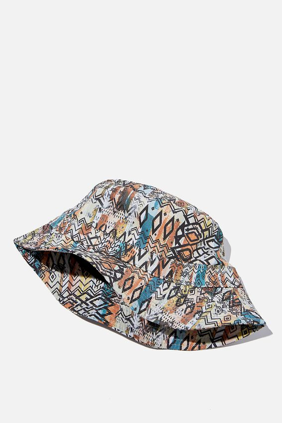 Bucket Hat, TRIBAL STRIPE