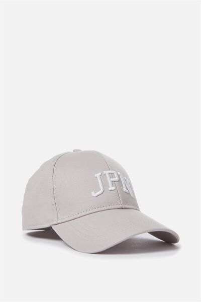 Outfield Fitted Cap, GREY/JPN