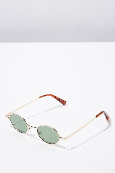 Denver Sunnies, GOLD/TORT/SMK GREEN