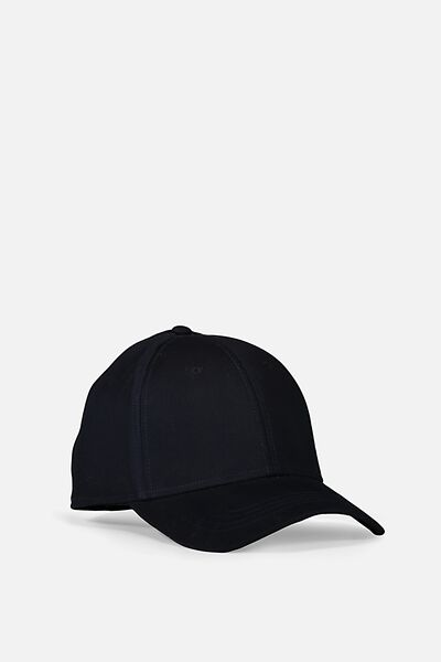 Outfield Fitted Cap, NAVY/BLANK