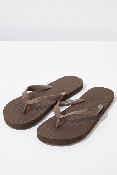 Bondi Flip Flop, DARK BROWN