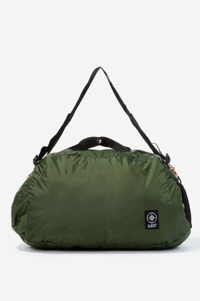 Packable Duffle, HIKING GREEN