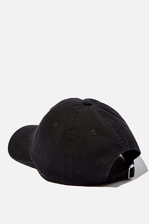 Blank Dad Hat, BLACK