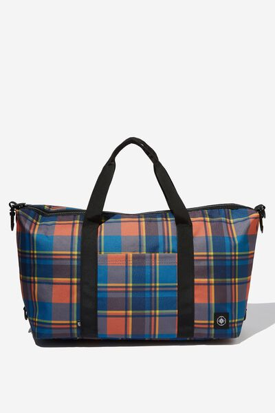 Transit Duffle Bag, MULTI CHECK