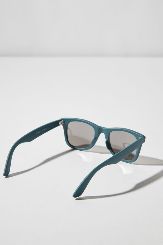Kennedy Sunglasses, TEAL/SMK SILVER