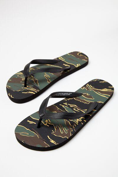 Bondi Flip Flop, KHAKI TIGER CAMO