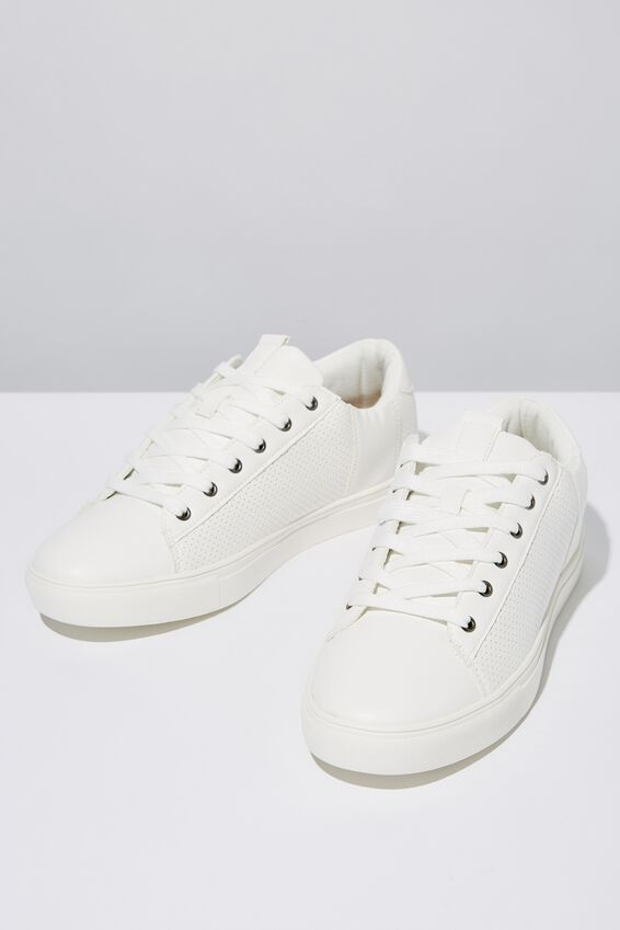 Dickson Classic Sneaker, WHITE/WHITE
