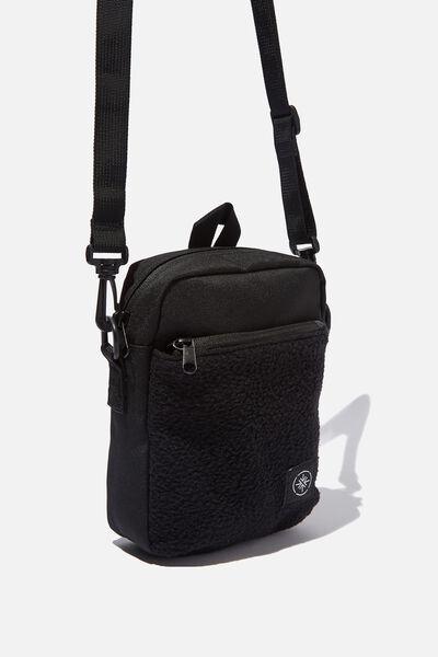 Transit Flight Bag, BLACK TEDDY