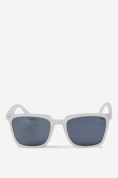 San Fran Sunnies, CRYSTAL WHITE/SMOKE