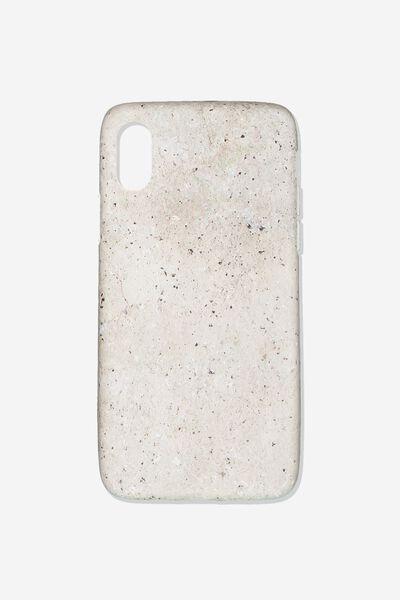 Essential Phone Cover Iphone X, CONCRETE