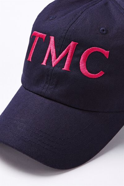 Personalised Classic Cap, NAVY