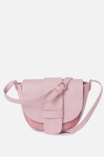 Katia Saddle Bag, BLUSH/BLUSH