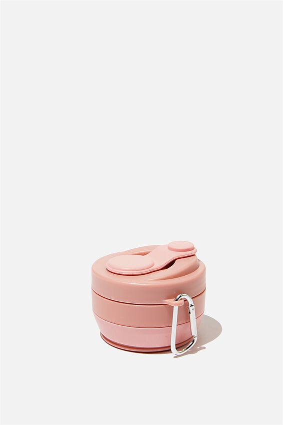 Collapsible Coffee Cup, DUSTY BLUSH