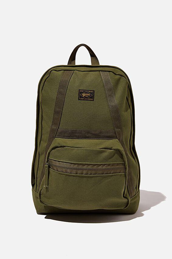 Brunswick Backpack, KHAKI CANVAS