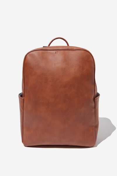 Personalised Berlin Tech Backpack, TAN