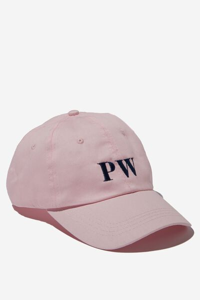 Personalised Initials Hat, PINK