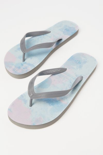 Bondi Flip Flop, CHARCOAL/STORM CLOUD