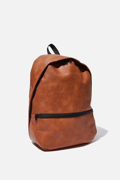Premium Transit Backpack, TAN PU