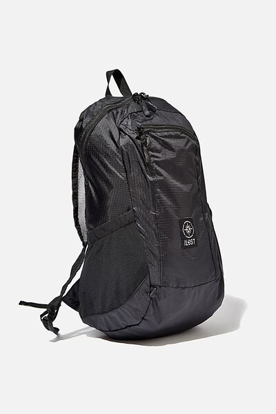 Packable Daypack, CHARCOAL
