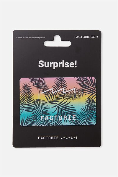 Factorie $50 Gift Card, PALMS