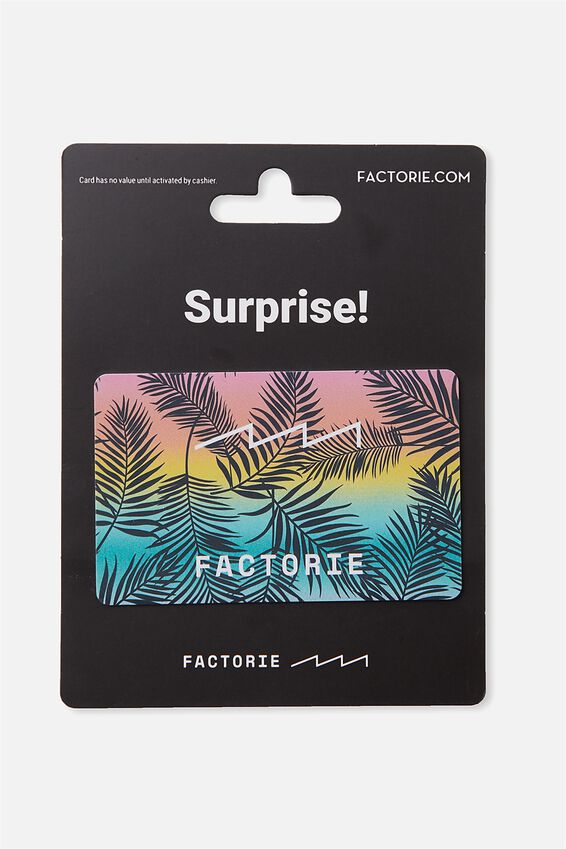 Factorie $100 Gift Card, PALMS