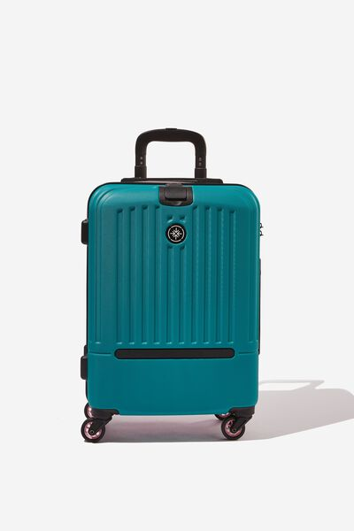 Sml 19Inch Hard Suitcase, MAGENTA/TEAL