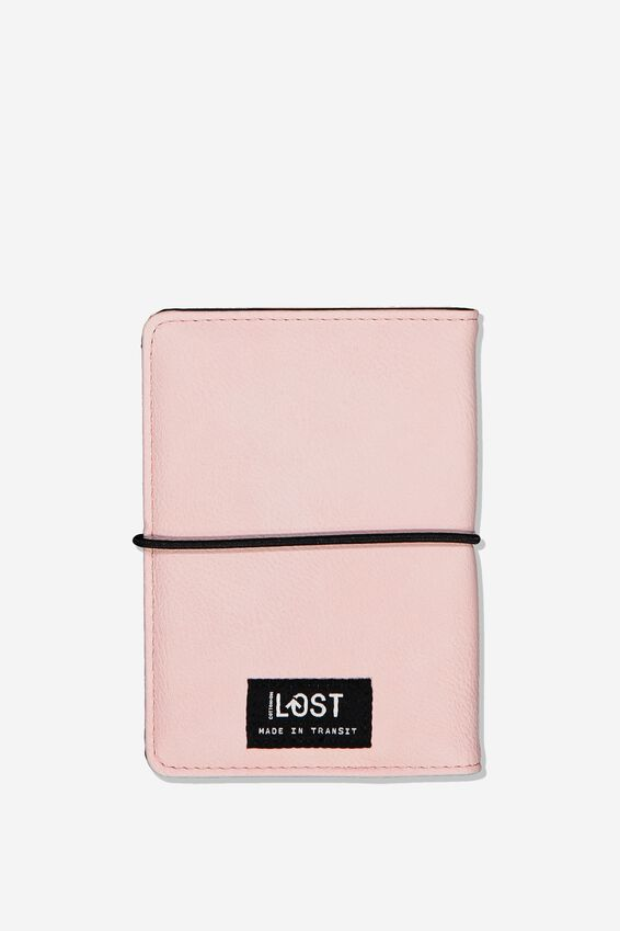Passport Holder, BLUSH