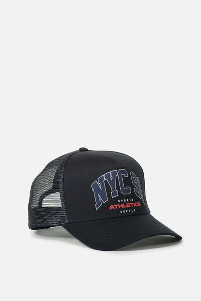Wicked Print Trucker, NAVY/NYC 91