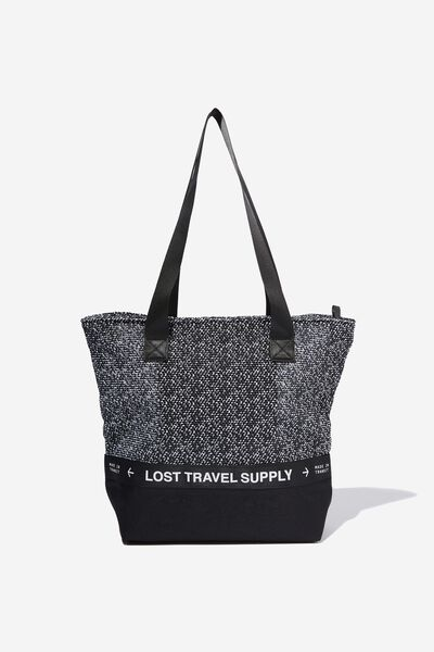 Movement Tote, BLACK