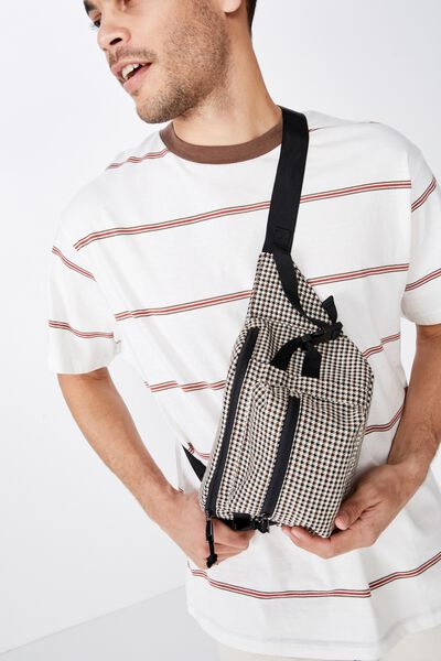 Bumbag, BROWN HOUNDSTOOTH