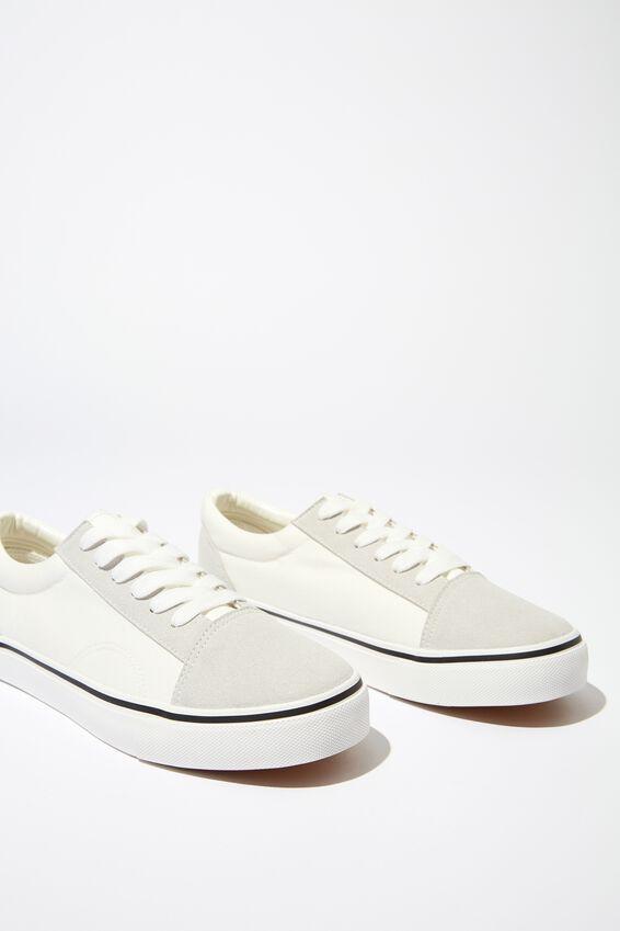 Axell Skate Shoe, WHITE/GREY