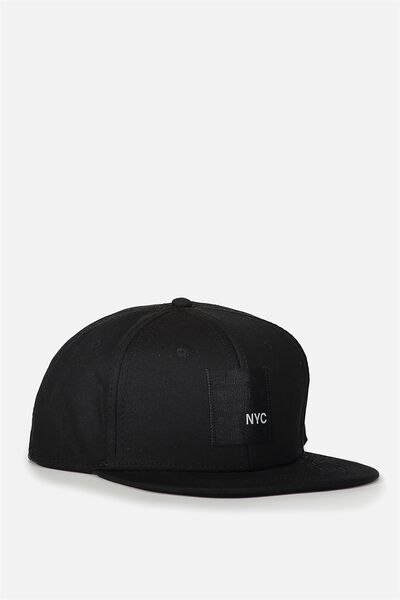 Art Snapback, BLACK/BOROUGHS