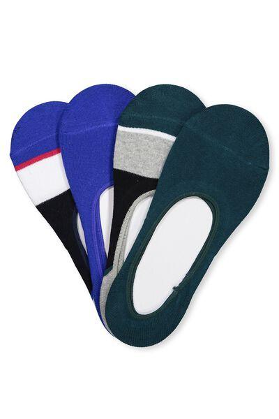 Multi Pack Invisi Socks, SPORTS PACK