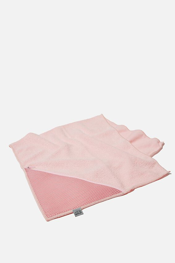 Sweat It Out Towel, BLUSH