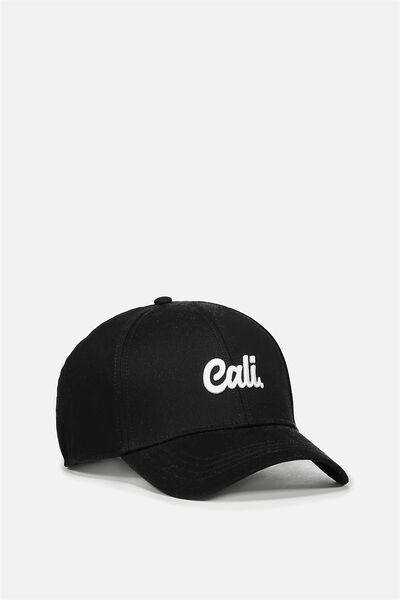 Outfield Fitted Cap, BLACK/CALI