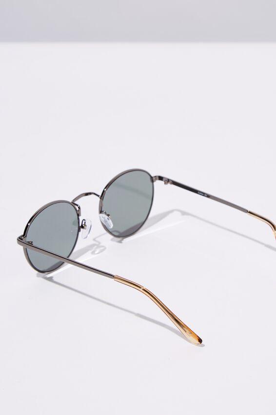 Columbus Sunglasses, GUN METAL/PURPLE SMK