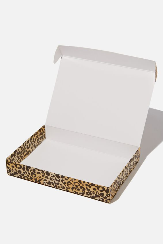 Small Gift Box, LEOPARD
