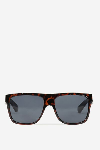 Tommy Flat Top Sunglasses, DARK/TORT
